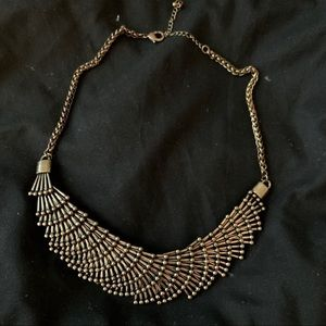 Bronze Fashion Collar Necklace